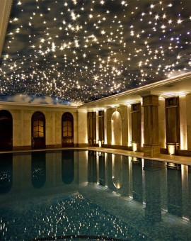 41 Pool star ceiling