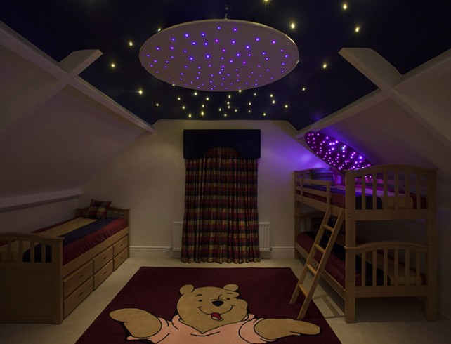 Star ceiling kits ce certified unlimited light star cloth ceiling ring mozeypictures